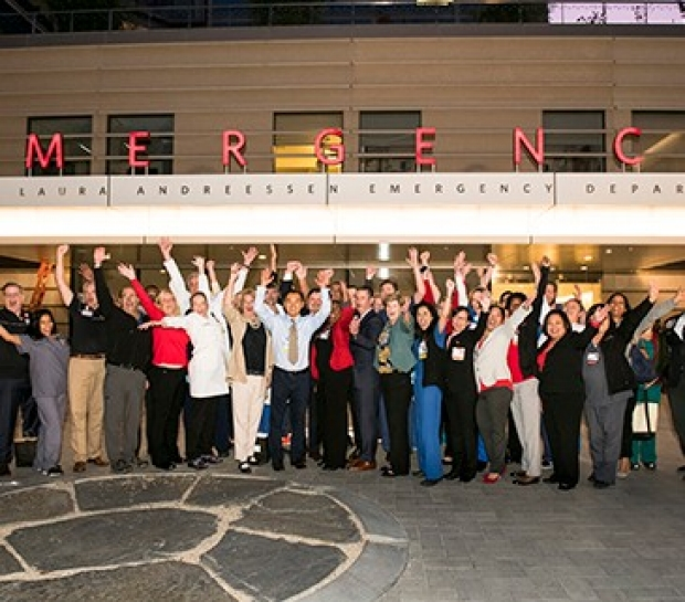 The opening of the new Stanford Hospital means separate emergency departments for adult and pediatric patients.