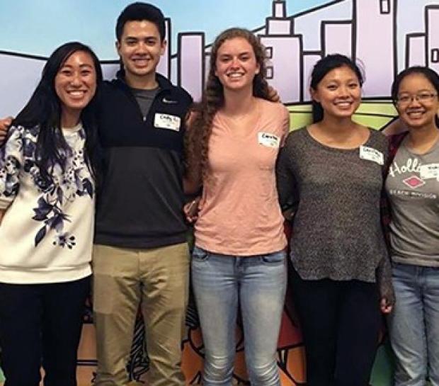 SHARED Program volunteers